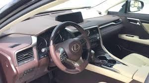 2017 lexus rx350 caviar with parchment interior