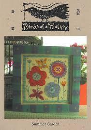 Summer Garden Birds Of A Feather Cross Stitch Chart 15 26