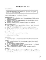 K Lesson Plan Sample High School Health Template – Bbfinancials.info