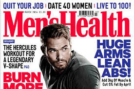 Magazine Abcs Mens Health Tops Combined Mens Chart