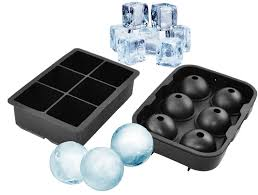 cube tray moulds bigear silicone ice trays whiskey tails ball round mold