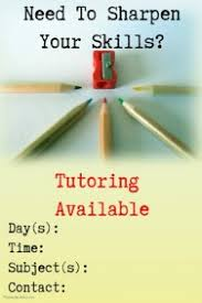 120 Customizable Design Templates For Tutor Postermywall