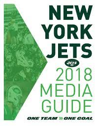 Manasquan Tide Chart 2018 New York Jets 2018 Media Guide By Brennafalvey1 Issuu