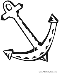 Small Picture Anchor Coloring Pages GetColoringPagescom