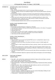 Supply Technician Resume Example Supply Chain Technician Resume Samples Velvet Jobs 37