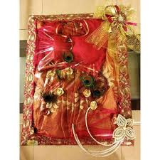 Saree Tray Decoration Custom Saree Packing Tray At Rs 32 Tray Pashan Pune ID 32