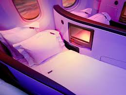 Image result for virgin atlantic first class