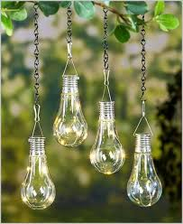 solar light bulb awesome set of 2 led hanging solar lights light bulb outdoor patio