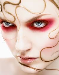 medusa makeup i like the alternative colour choice for a medusa gorgon character
