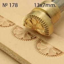 details about leather stamp tool crafting crafts brass saddle making stamps 178