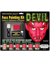 devil plete make up set