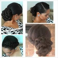 13twisted midi bun twist hairstyle