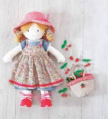 Cloth Doll Patterns Enchanting Cloth Doll Patterns Free AOL Image Search Results DOLL PATTERNS