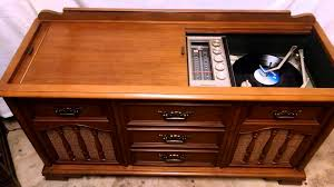 Magnavox Astro Sonic Console Stereo with Bluetooth - YouTube