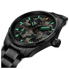 Mens Watches That Light Up Amazon Com Mens Tritium Luminous Military Watch Sapphire