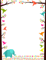 See more ideas about borders for paper, printables, writing paper. Printable Origami Border Use The Border In Microsoft Word Or Other Programs For Creating Flyers Invitations Clip Art Borders Page Borders Borders And Frames