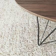west elm pebble rug mini pebble jute wool rug natural ivory at west elm area rugs west elm pebble rug