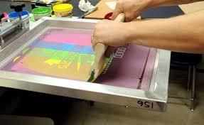 silk screen printing service