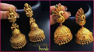 Artificial Jhumka Designs With Price Latest Light Weight Gold Jhumka Jhumki Designs Latest