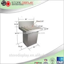 Coffee Shop Display Stands Paper Display Stand For Coffee Shop Aluminum Display Stands Custom 65