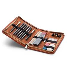 leather writing case wow what a beautiful tool kit