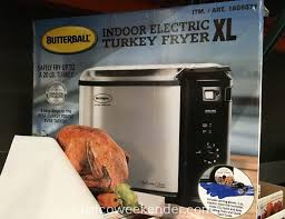 Butterball Electric Fryer Cooking Chart Butterball 23011815 Indoor Electric Turkey Fryer Xl Costco