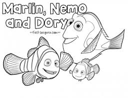 Small Picture Finding dory movie coloring pages for kids Printable Coloring
