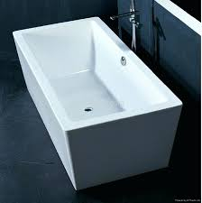 stand alone bathtub enticing seamless rectangular freestanding bathtub idea in acrylic harga stand baby bath tub