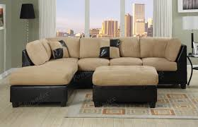 Sectionals Living Room Sectional Sofa Furniture Microfiber Sectional Couch 3 Pc Living