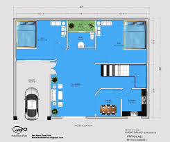 30 x 40 duplex house plans west facing for 30x40 duplex house floor plans