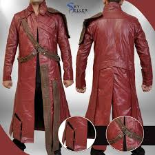 guardians of the galaxy starlord peter quill trench coat guardians galaxy starlord trench coat