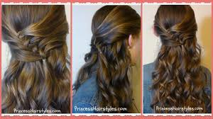 You Tube Hair Style diagonal knots hairstyle tutorial princess hairstyles youtube 1798 by wearticles.com