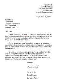 Letter Bussines How To Format A Business Letter Fairygodboss