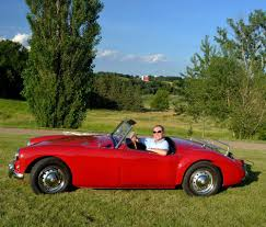 fred leverentz 1957 mga british sports car life fred leverentz s 1957 mga roadster