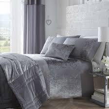 boulevard silver grey quilt coveratching curtains