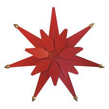 Weihnachtsstern Beleuchtet Rot Doppelt