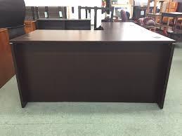 l office desk. espresso lshape executive office desk left or right l