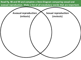 Venn Diagram Of Asexual And Sexual Reproduction Sexual And Asexual Reproduction Venn Diagram Magdalene