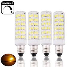 bonlux 6w dimmable e11 mini candelabra led bulbs 45w equivalent warm white t3 t4 mini candelabra e11 base omni directional e11 replacement bulb for