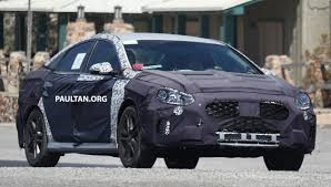 2018 hyundai sonata redesign. plain 2018 2018 hyundai sonata n spyshots03 throughout hyundai sonata redesign