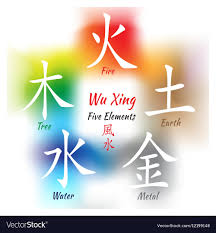 water feng shui element infographics. Five Feng Shui Elements Set Vector Image Water Element Infographics R