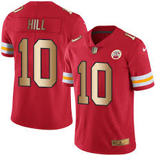 No City 10 Red Tyreek Kansas Hill Color Rush gold Chiefs Jersey Limited abbcadbaca|NFL Betting System For Intelligent Football Betting