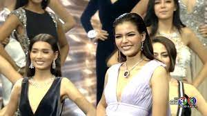 Hilights (Full HD) - ฟ้าใส ปวีณสุดา ดรูอิ้น 2nd runner-up Miss Universe  Thailand 2017 - YouTube