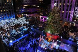 tree lighting nyc 82nd annual rockefeller center lights up new york city picture