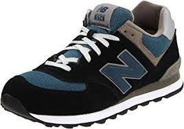 new balance shoes navy blue. new balance men\u0027s ml574 lifestyle sneaker,navy/slate blue suede,6.5 2e us shoes navy