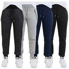 Puma Men S French Terry Jogger Size Chart Mens French Terry Jogger Pants Sweatpants W Zipper Pockets
