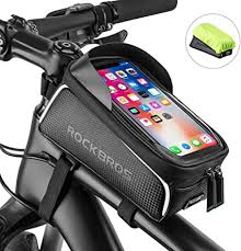 ROCKBROS <b>Bike Frame Bag</b> Water Resistant <b>Bicycle</b> Front Top ...
