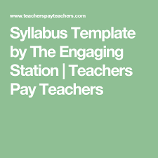 weekly syllabus template 15 weekly online course syllabus template free template design