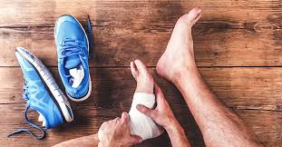 ankle sprain causes symptoms and