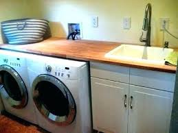 small laundry sink utility ideas modern room countertop